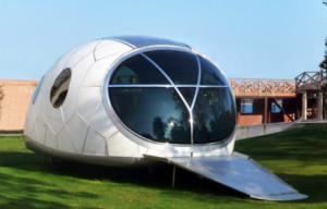 solar powered pod house 1