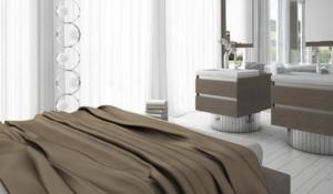 toilet sink in bedroom
