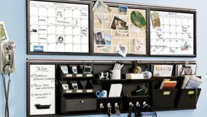 wall mounted mail organizer