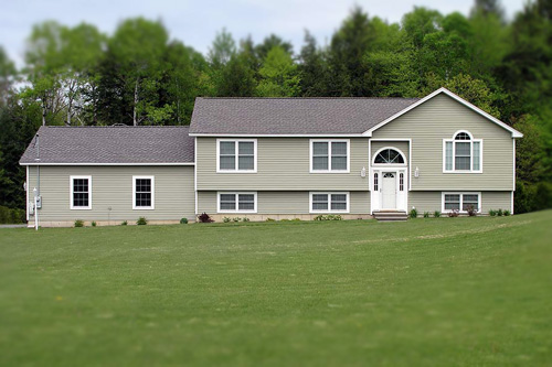 Raised ranch style modular house small house design for Raised ranch house plans designs